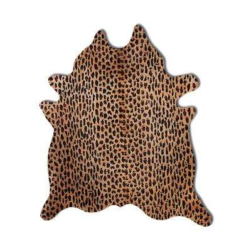 Togo Leopard 6 ft. x 7 ft. Cowhide Area Rug