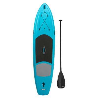 Amped 11 ft. long x 32 in. wide Paddle Board in Glacier Blue