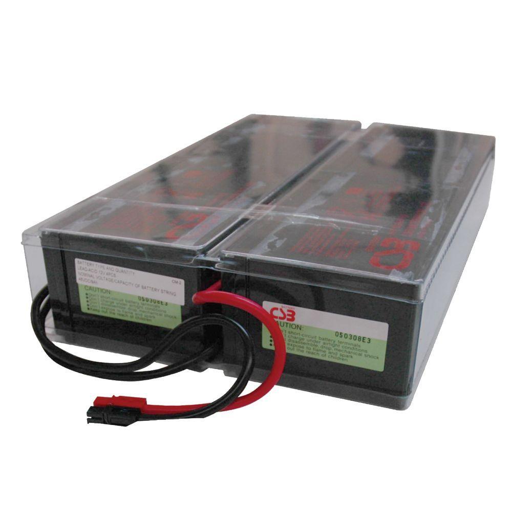 2U UPS Replacement 48VDC Battery Cartridge (1 set of 4) for Select SmartPro UPS