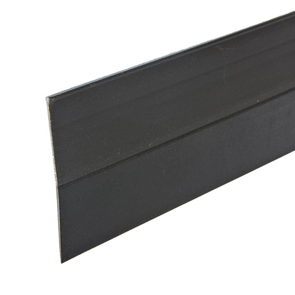 E/O 1-1/2 in. x 36 in. Brown Self-Stick Door Sweep