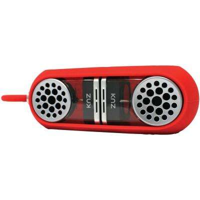 All-in-One Portable Bluetooth Speakers in Red