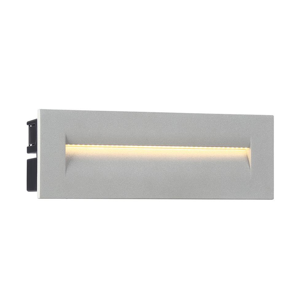 1 -Light Marine Grey Aluminum body Outdoor Integrated LED Wall mount