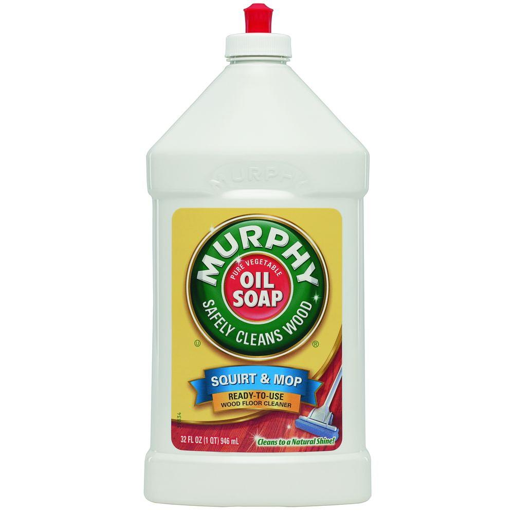 Murphy S Oil 32 Oz Just And Mop Wood Floor Cleaner 01150