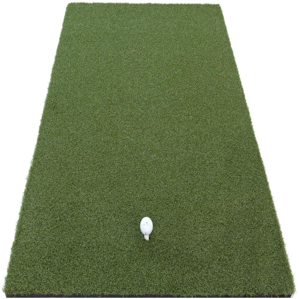DuraPlay 1 ft. x 2 ft. Indoor Outdoor Synthetic Turf Pro Golf Mat with 5/8 in. Rubber Backing