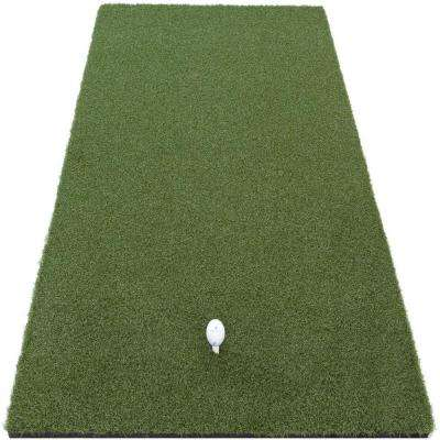 1 ft. x 2 ft. Indoor Outdoor Synthetic Turf Pro Golf Mat with 5/8 in. Rubber Backing