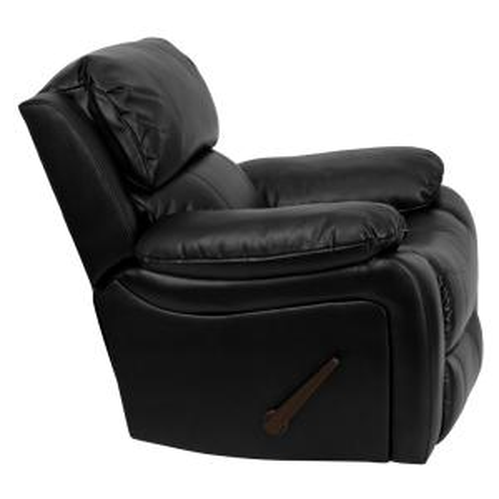 Genial Internet #301745558. +2. Flash Furniture Black Leather Rocker Recliner