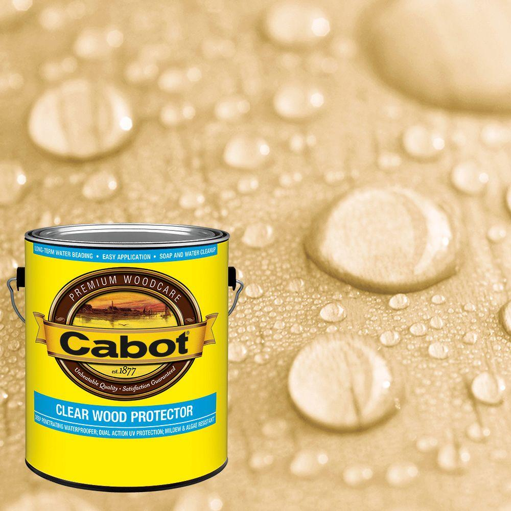 1 Gal. Clear Exterior Wood Protector