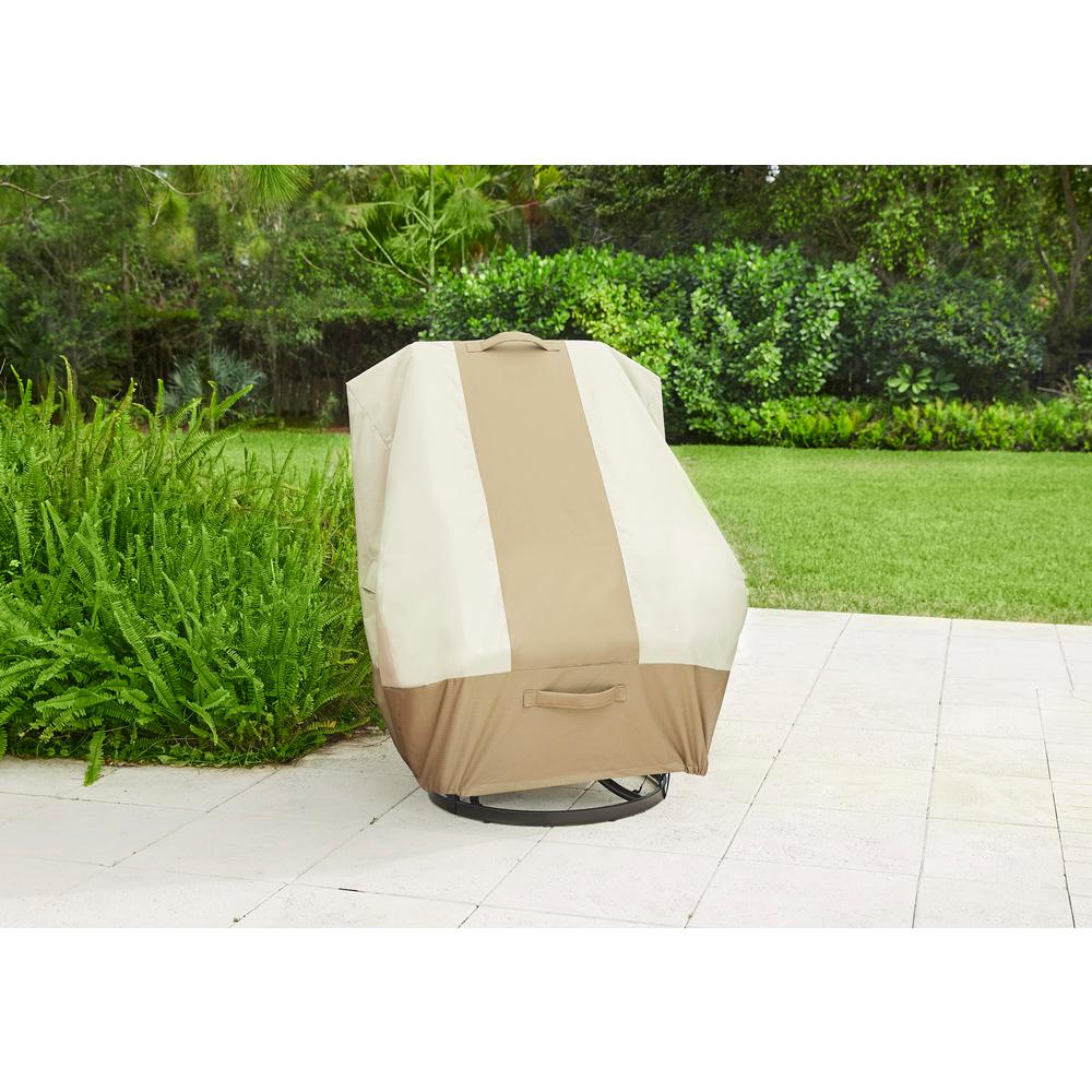 Hampton Bay High Back Outdoor Patio Chair Cover 517938 C