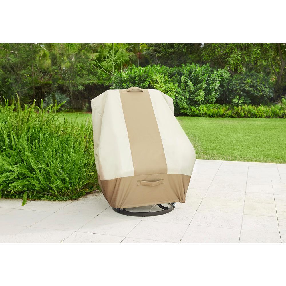 Hampton Bay High Back Outdoor Patio Chair Cover
