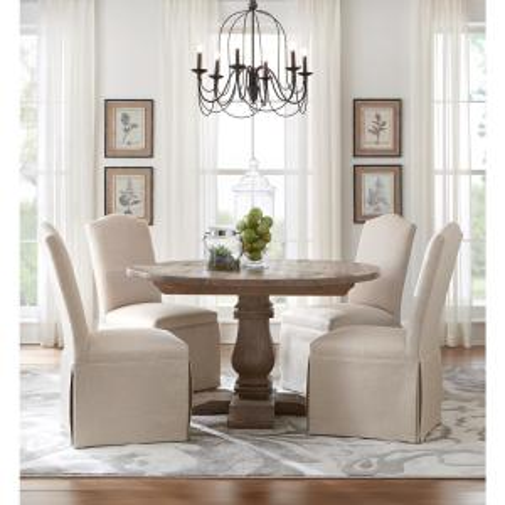 db2b935c6c0 Internet  304284683. +6. Home Decorators Collection Aldridge Antique Grey  Round Dining Table