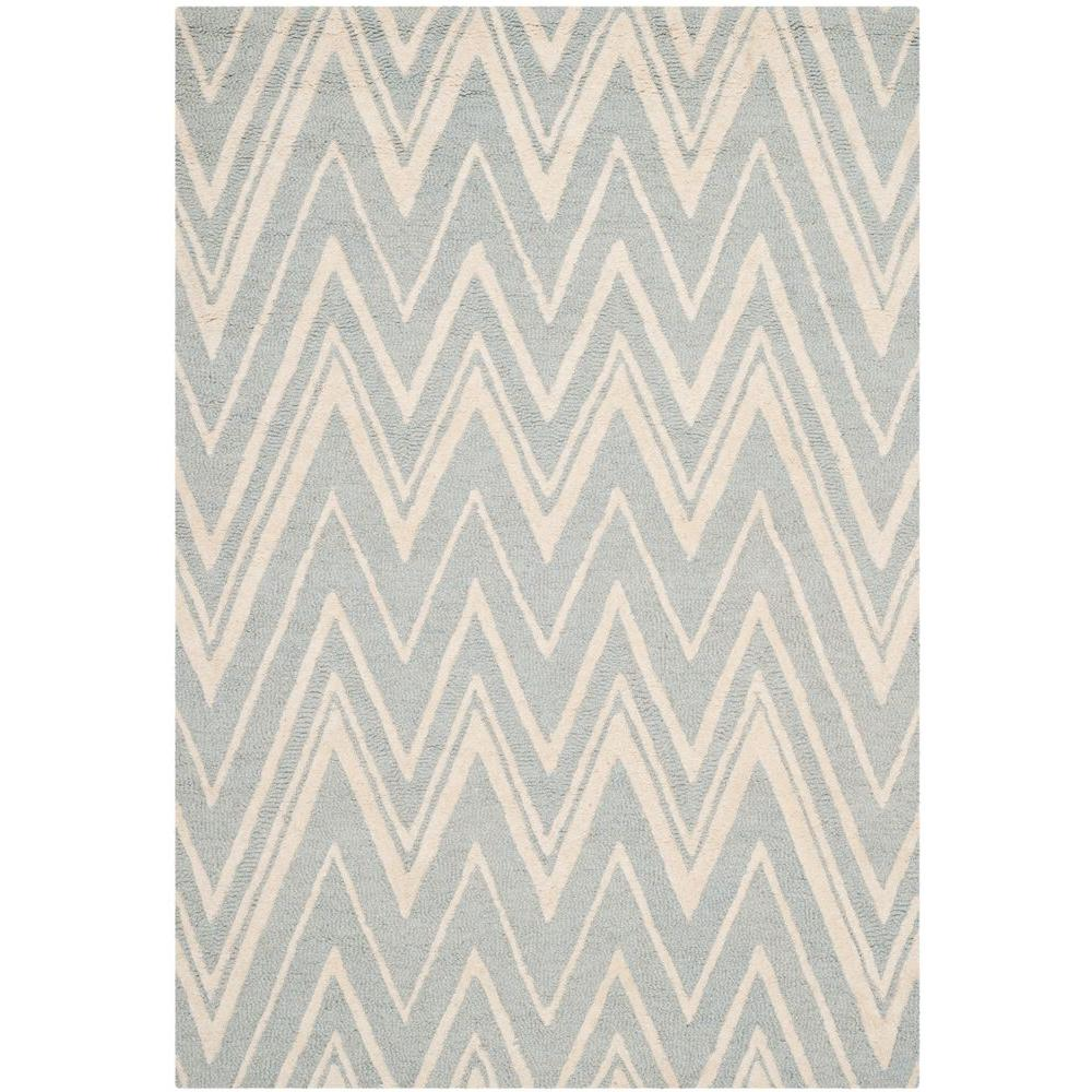Cambridge Gray/Ivory 3 ft. x 5 ft. Area Rug