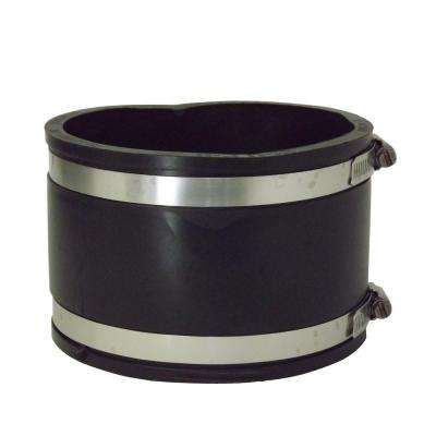 6 in. x 6 in. PVC A.C., Fibre or D.I. to A.C., Fibre or D.I. Flexible Coupling