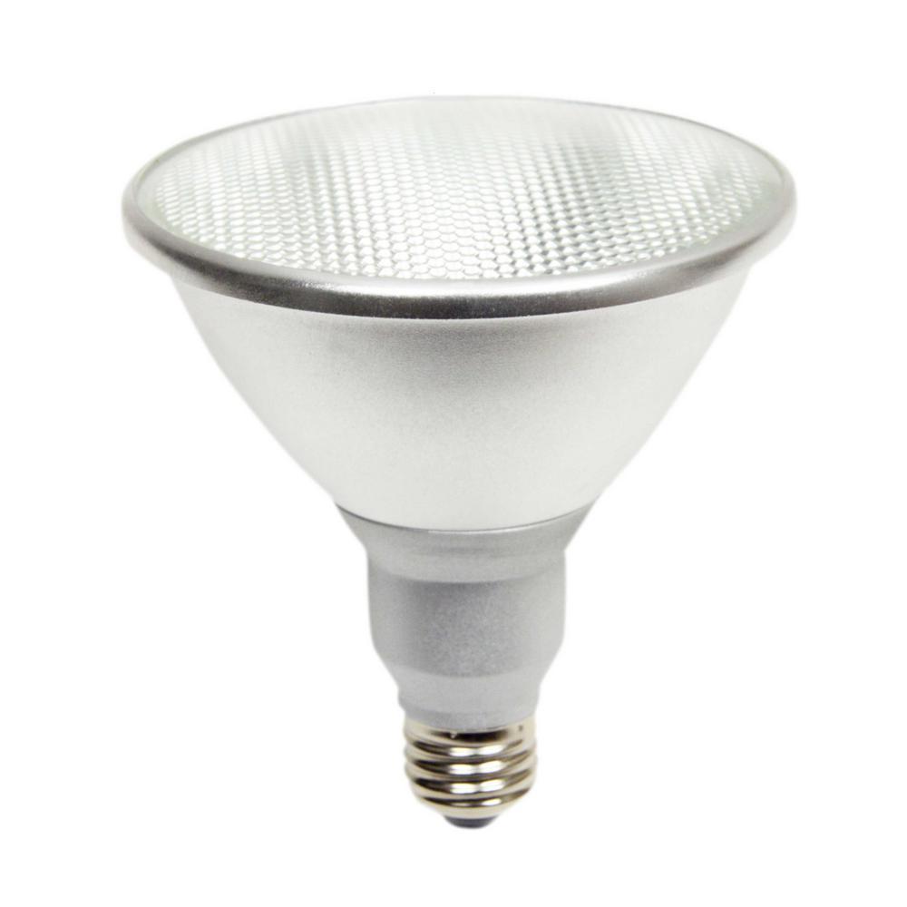 90-Watt Equivalent 15-Watt PAR38 Dimmable LED Flood White Soft White Light Bulb 3000K 81954