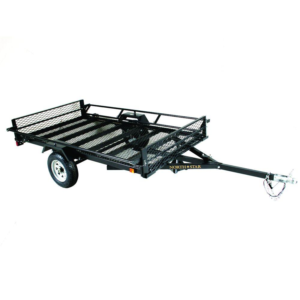 Northstar Trailers Sport Star 5 ft. x 9 ft. 2-Trailer Kit with Side ...