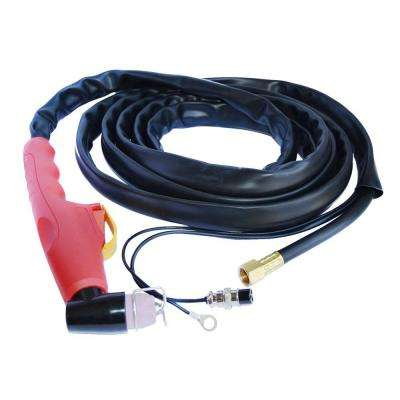 13 ft. Pilot Arc Plasma Cutting Torch for Lotos LTP5000D with 3-Pin Plug
