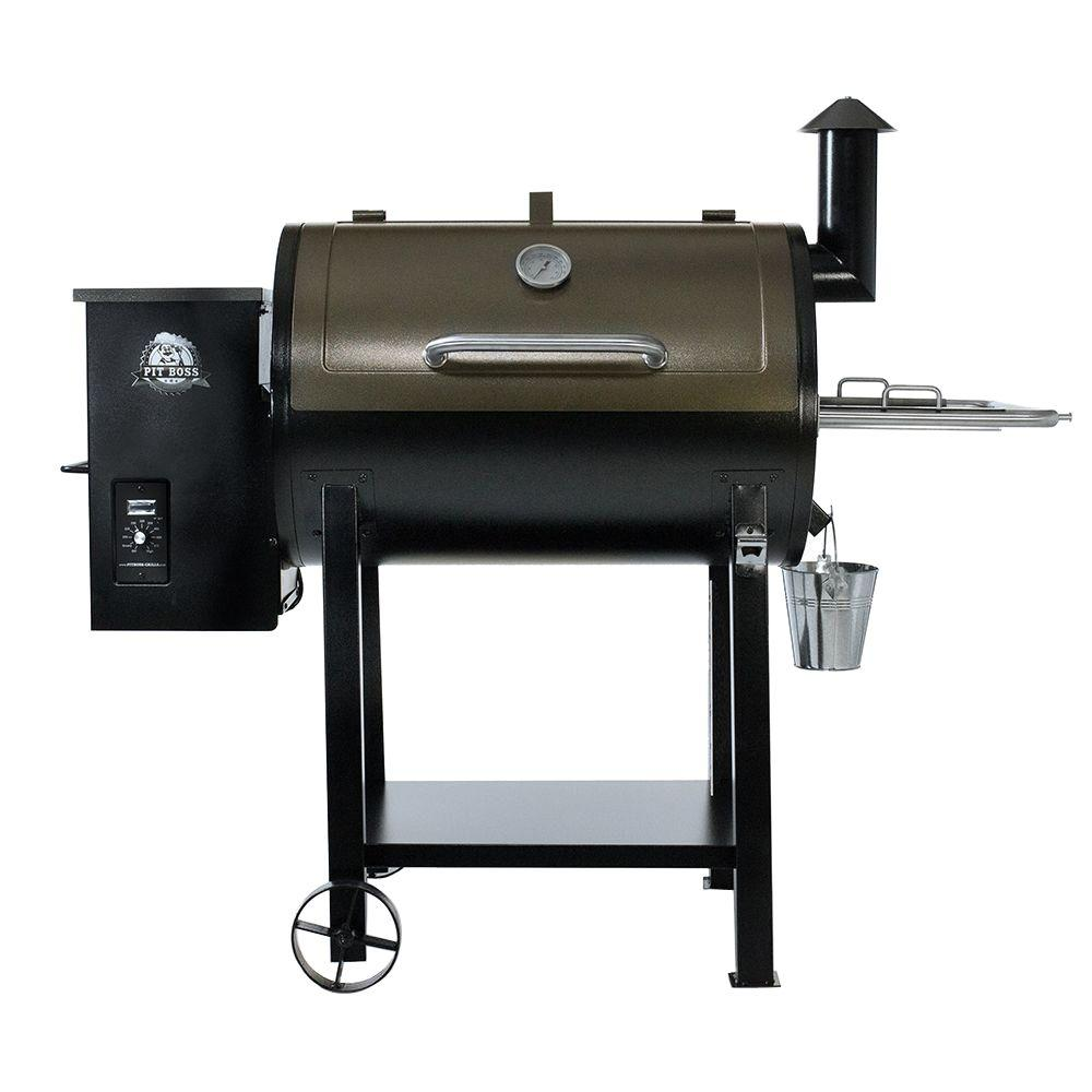 pit boss deluxe pellet grill smoker two toned shop your way online shopping earn points on. Black Bedroom Furniture Sets. Home Design Ideas