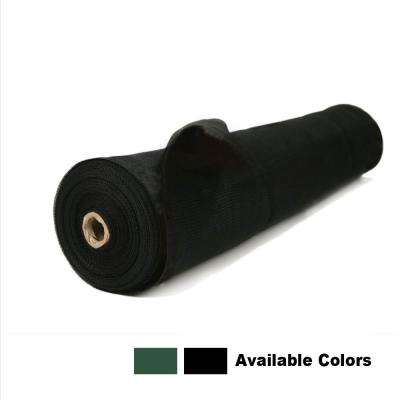 6 ft. x 100 ft. Privacy Screen Fence in Black