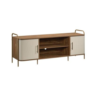 Coral Cape 60 in. Sindoori Mango Engineered Wood TV Stand Fits TVs Up to 60 in. with Storage Doors