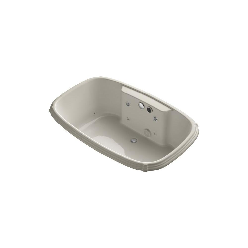KOHLER Portrait 5.5 ft. Whirlpool Tub in Sandbar