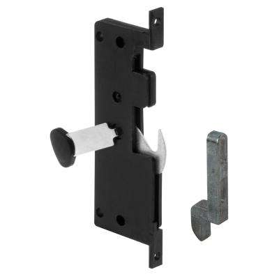 Mortise Style Sliding Screen Door Hook Latch