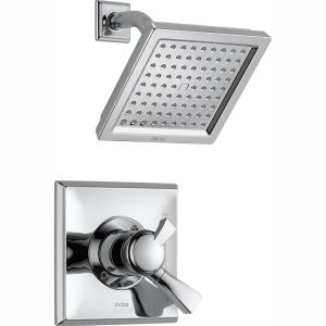 Dryden 1-Handle Shower Faucet Trim Kit in Chrome (Valve Not Included)