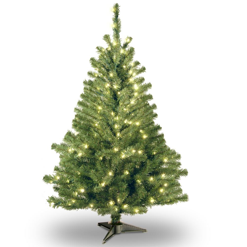 6 ft. Kincaid Spruce Artificial Christmas Tree with Clear Lights