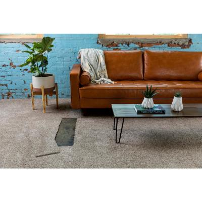 It's Magic Shifting Sand Texture Peel and Stick  9 in. x 36 in. Plank Carpet Tile (6-Tiles/Case)