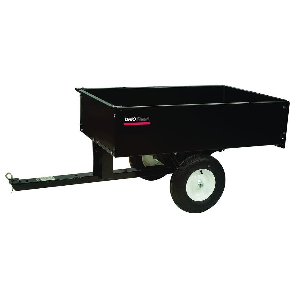12 cu. ft. 1000 lb. Capacity Steel Dump Cart