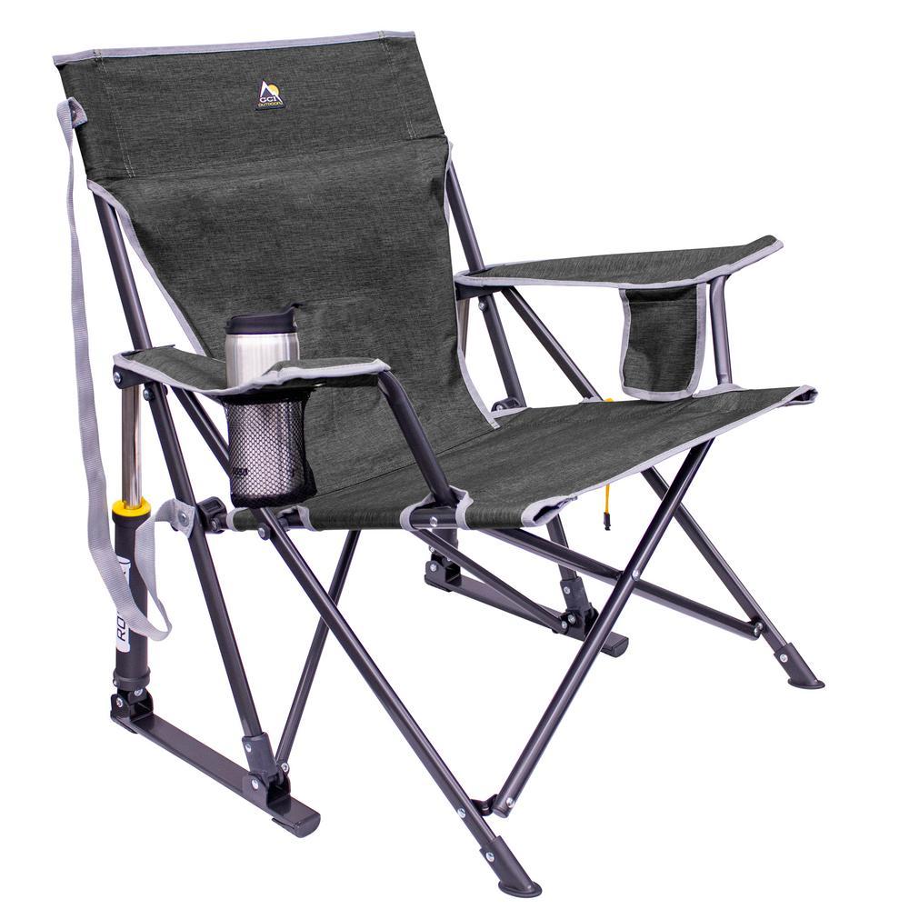 Kickback Rocker Metal Outdoor Rocking Chair