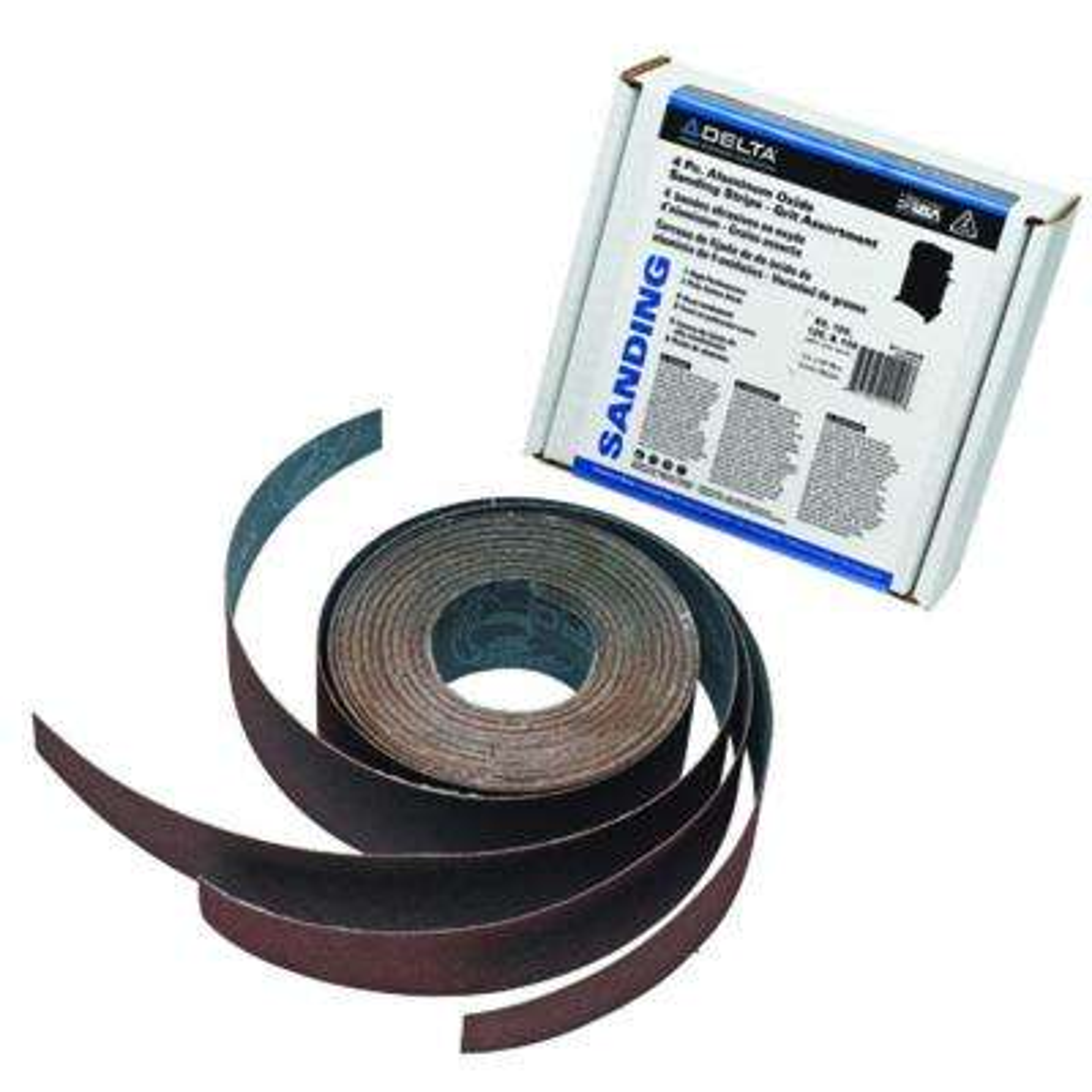25 in. Dual Drum Sander Aluminum Oxide Sanding Strips (3-Piece)