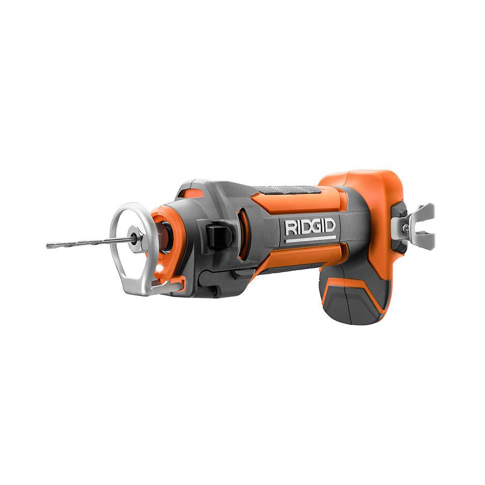 RIDGID - 18-Volt Drywall Cut-Out Tool