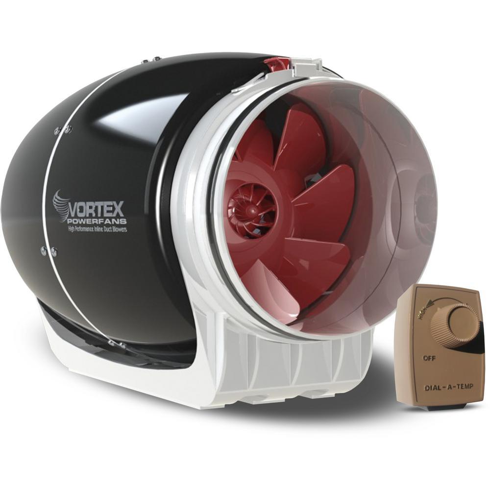 Power Fan S-600 Mixed Flow Fan with Dial-A-Temp Kit