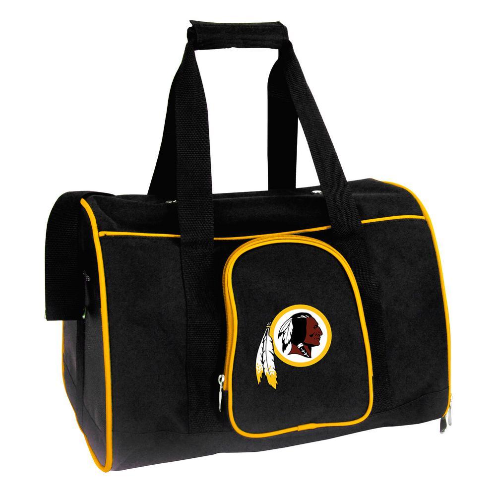 NFL Washington Redskins Pet Carrier Premium 16 in. Bag in Yellow