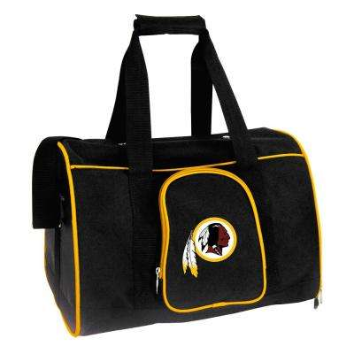NFL Washington Redskins Pet Carrier Premium 16 in. Bag in Yellow