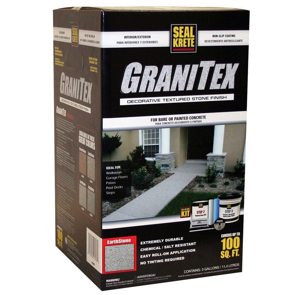 Seal-Krete 3 gal. GraniTex Kit - Earthstone