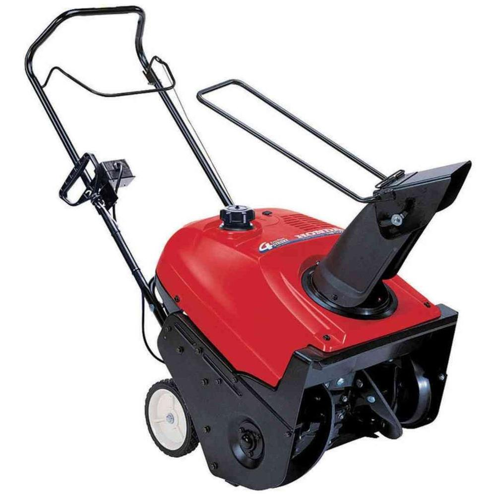 Honda 20 in. Single-Stage Electric Start Gas Snow Blower-DISCONTINUED