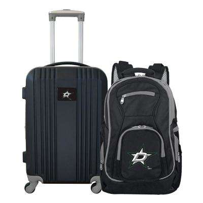 NHL Dallas Stars 2-Piece Set Luggage and Backpack