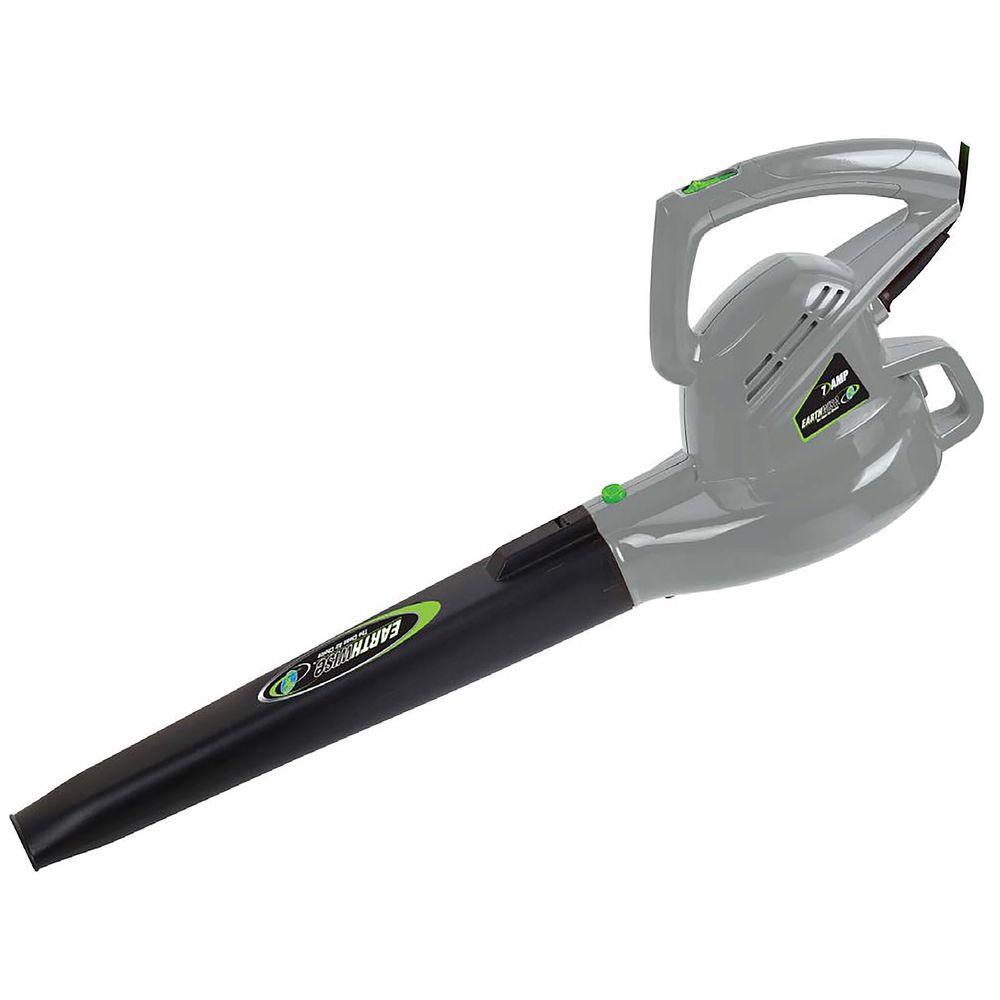 200 MPH 180 CFM 7.0 Amp Electric Leaf Blower Sweeper