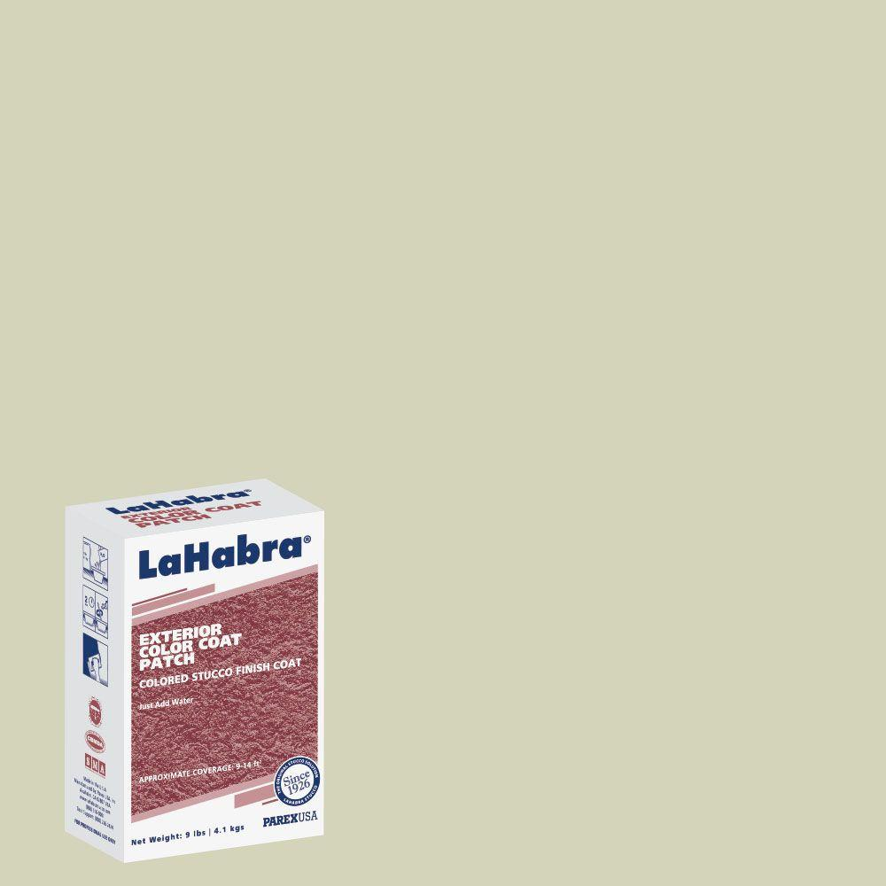 LaHabra 9 lb. Exterior Stucco Color Patch #696 Southern Moss