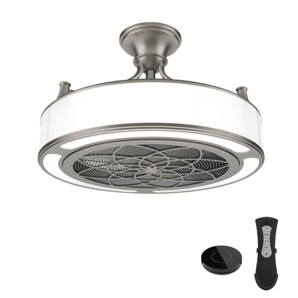 Enclosed Ceiling Fan And Light Combination