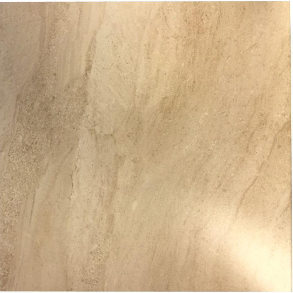 Parma Beige 18 in. x 18 in. Ceramic Floor Tile (17.50 sq. ft. / case)