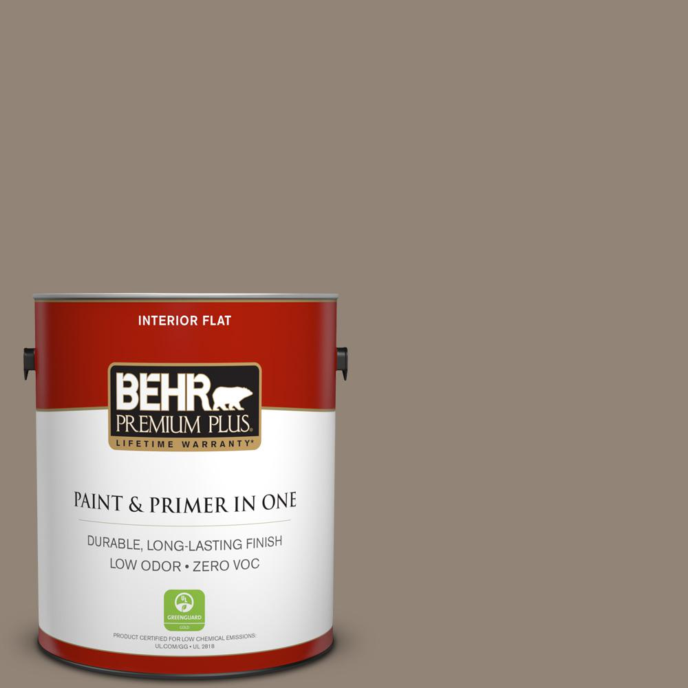 BEHR Premium Plus 1-gal. #N220-5 Ottertail Flat Interior Paint