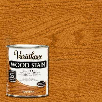 1 qt. 3X Paprika Wood Stain (Case of 2)