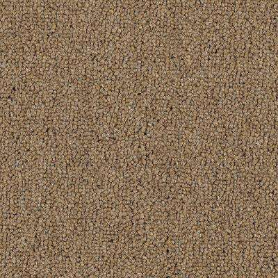 Carpet Sample - Top Rail 26 - Color Burlap Loop 8 in. x 8 in.