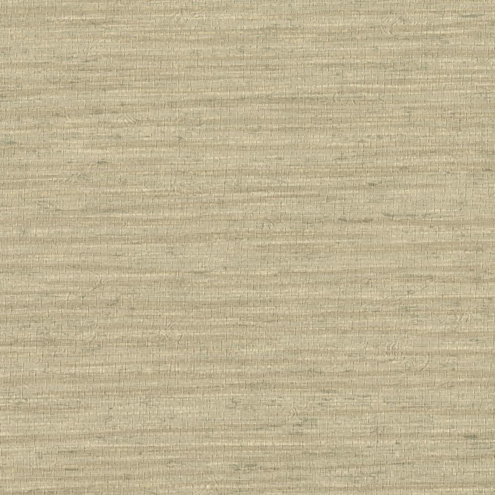 Grasscloth Wallpaper Samples: Kenneth James 72 Sq. Ft. Ning Taupe Grasscloth Wallpaper