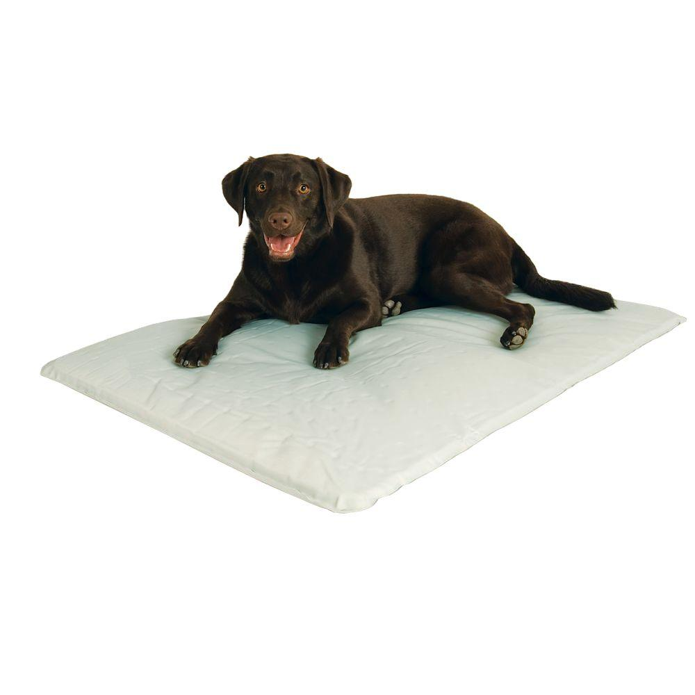 K&H Pet Products Cool Bed III Large Gray Cooling Dog Bed ...