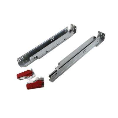 21 in  Full Extension Under Mount Soft Close Ball Bearing Drawer Slide with  Rear Bracket Set (6-Pair)