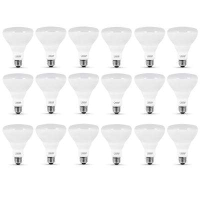 65-Watt Equivalent BR30 Dimmable CEC Title 20 Compliant LED ENERGY STAR 90+ CRI Flood Light Bulb, Daylight (18-Pack)