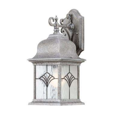 Tiffany Collection Golden Baroque 1-Light Outdoor Wall Lantern