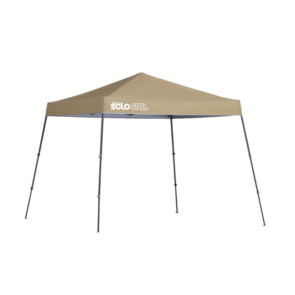 10 x 10 ft. Khaki Slant Leg Canopy  sc 1 st  The Home Depot & Quik Shade 10 x 10 ft. Khaki Slant Leg Canopy-167540DS - The Home Depot